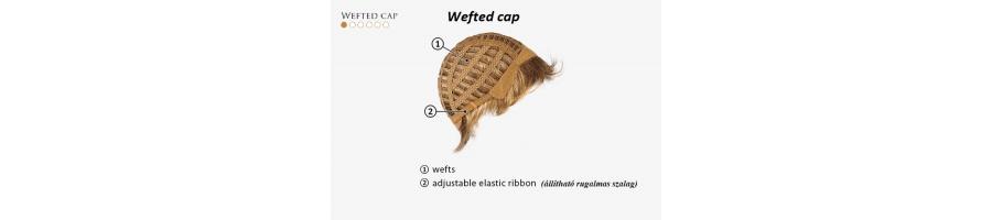 Wefted cap